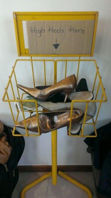 High heels wanted