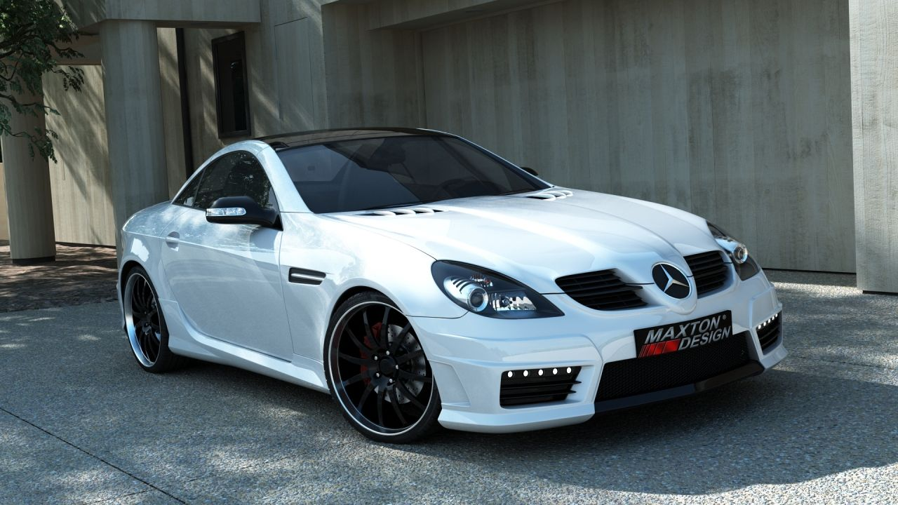Bodykit mercedes slk r171 slk r172 amg look 635 eur fob for Mercedes benz slk accessories