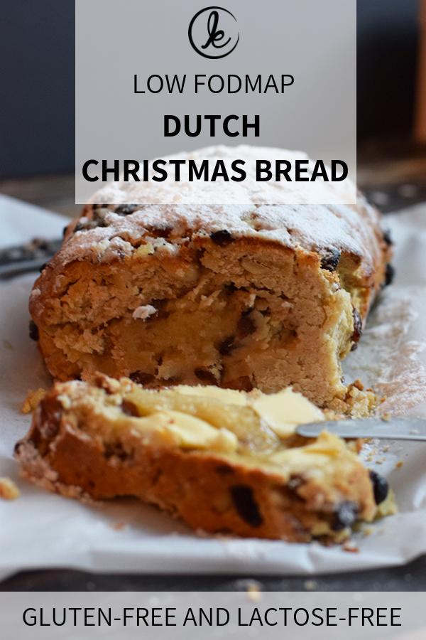 Dutch Christmas Food.Gluten Free Dutch Christmas Bread