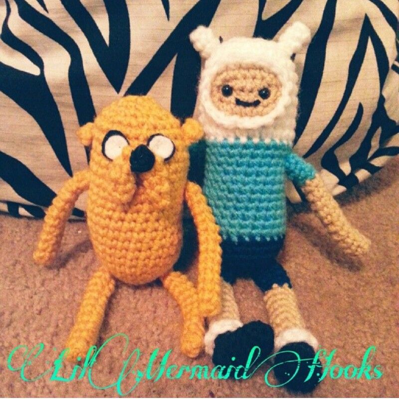 Adventure Time crochet amigurumis :)