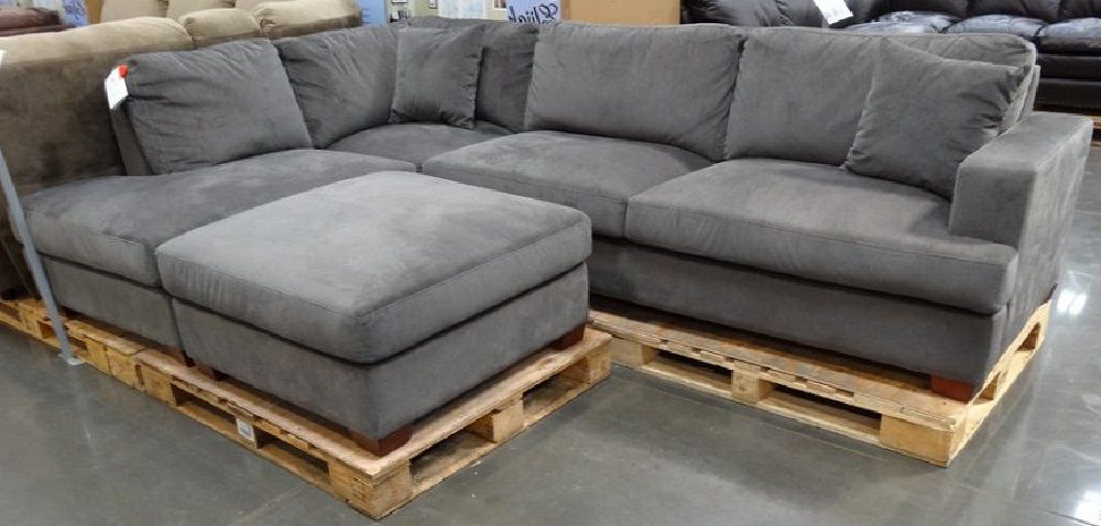Gray Sectional Sofa Costco | Grey sectional sofa, Grey ...