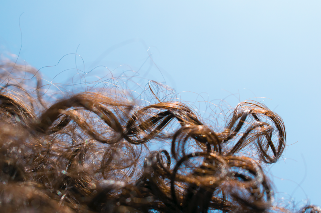 curly hair aesthetic film
