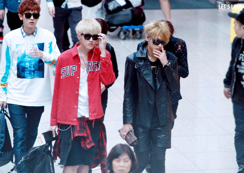 Chanyeol, Kris and Tao