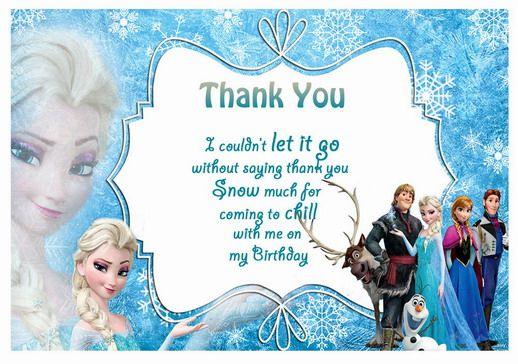 Frozen Tnx Main Frozen Birthday Invitations Frozen Party Invitations Frozen Invitations