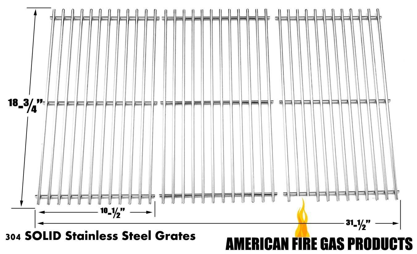 Solid Stainless Steel Cooking Grid for Centro, Jenn Air