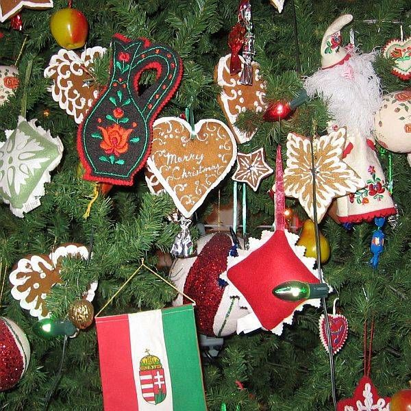 Hungarian Christmas Traditions.When It Comes To Christmas Trees What Is Up Is Down In
