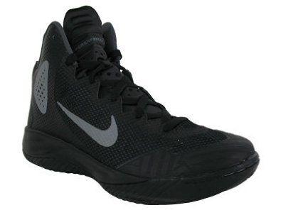 Nike Zoom Hyperenforcer XD Black Metallic SilverDark Grey 10 D US