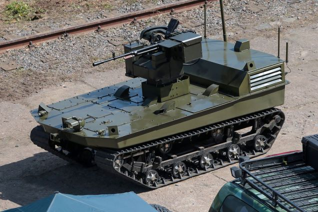 Russia Is Developing Ground Drone Army Including Amphibious Models
