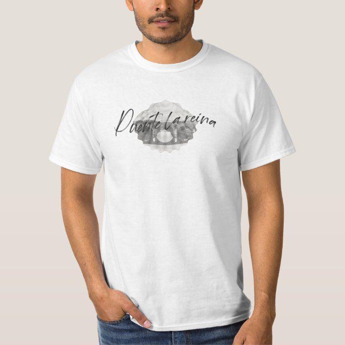Camiseta vieira y camino Santiago, Puente la Reina |