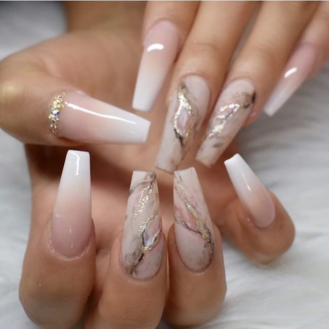 Best nail art designs to try this spring & summer 2020 - 51 - Fab Wedding Dress, Nail art designs, Hair colors , Cakes