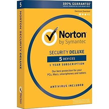 Norton Security Deluxe 5 Device For Windows Mac Andriod