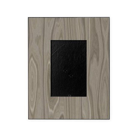 Gray Wood Picture Frame on CafePress.com