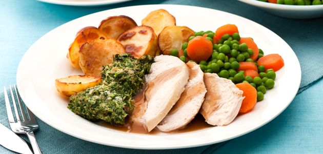 Roast Chicken With Stuffing | Sunday Roast Recipe | Sainsbury's ...