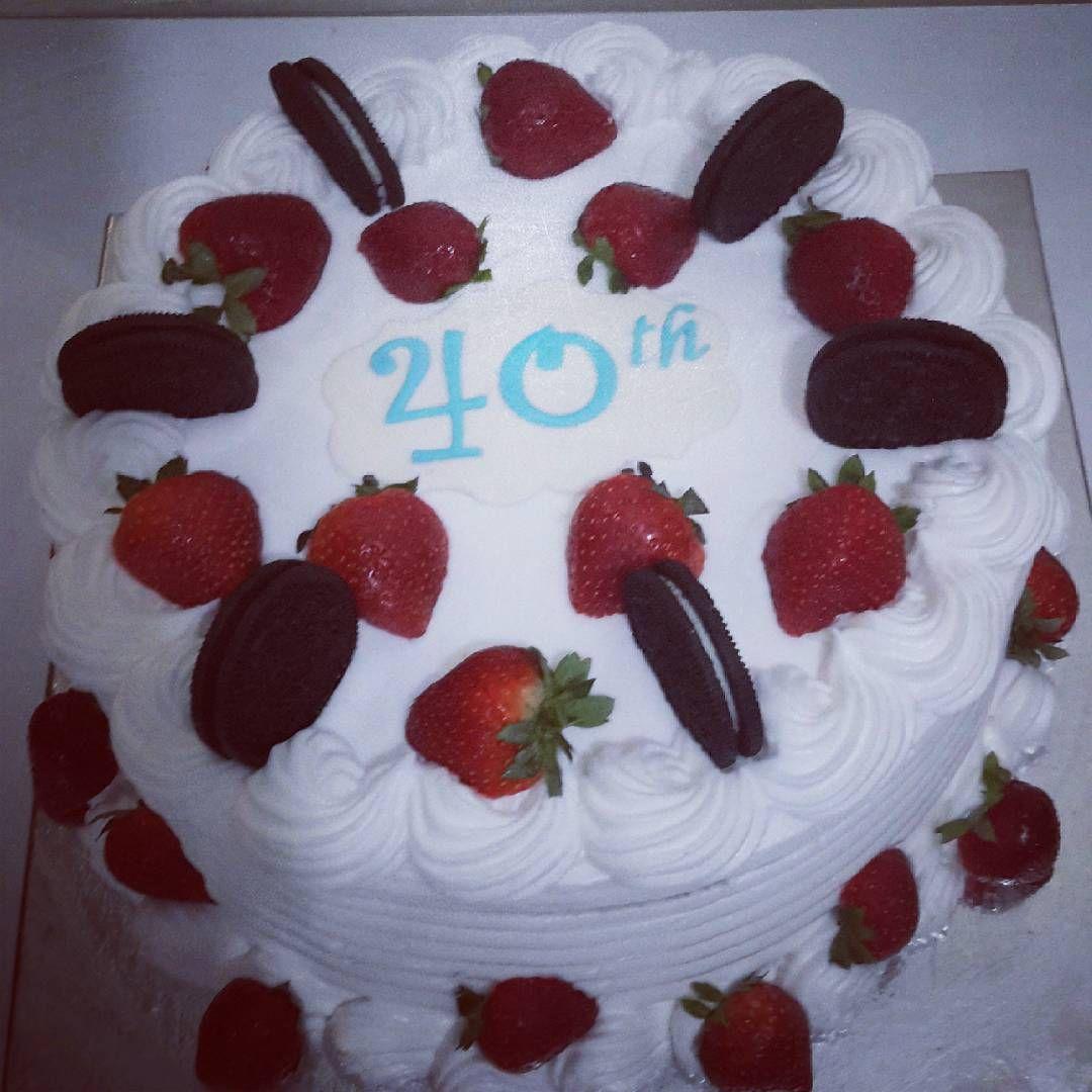 40th Anniversary Cake Birthday Cake Ideas Cake Design Diy For