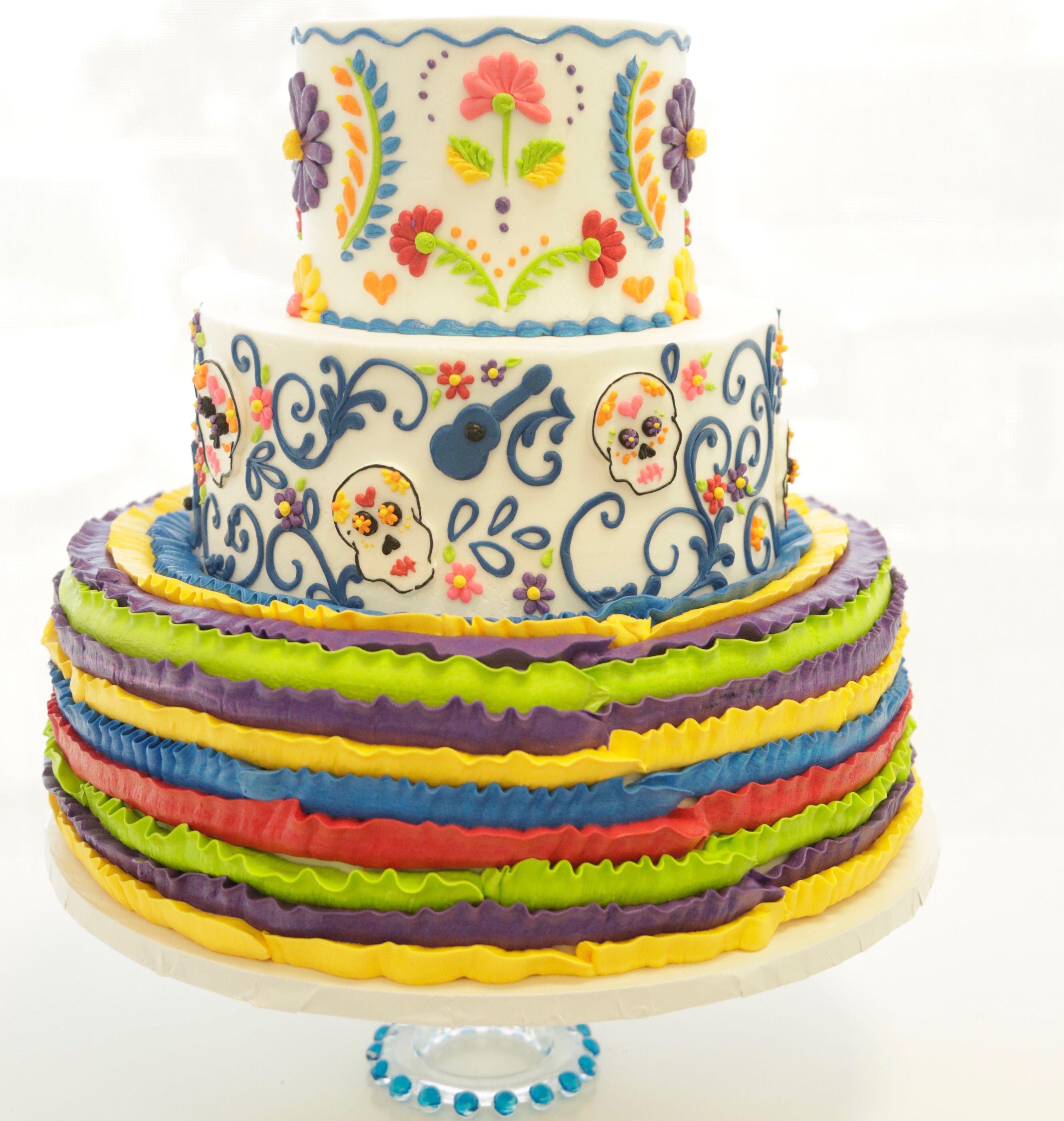 Buttercream Fiesta Cake From Great Dane Baking Company Cake
