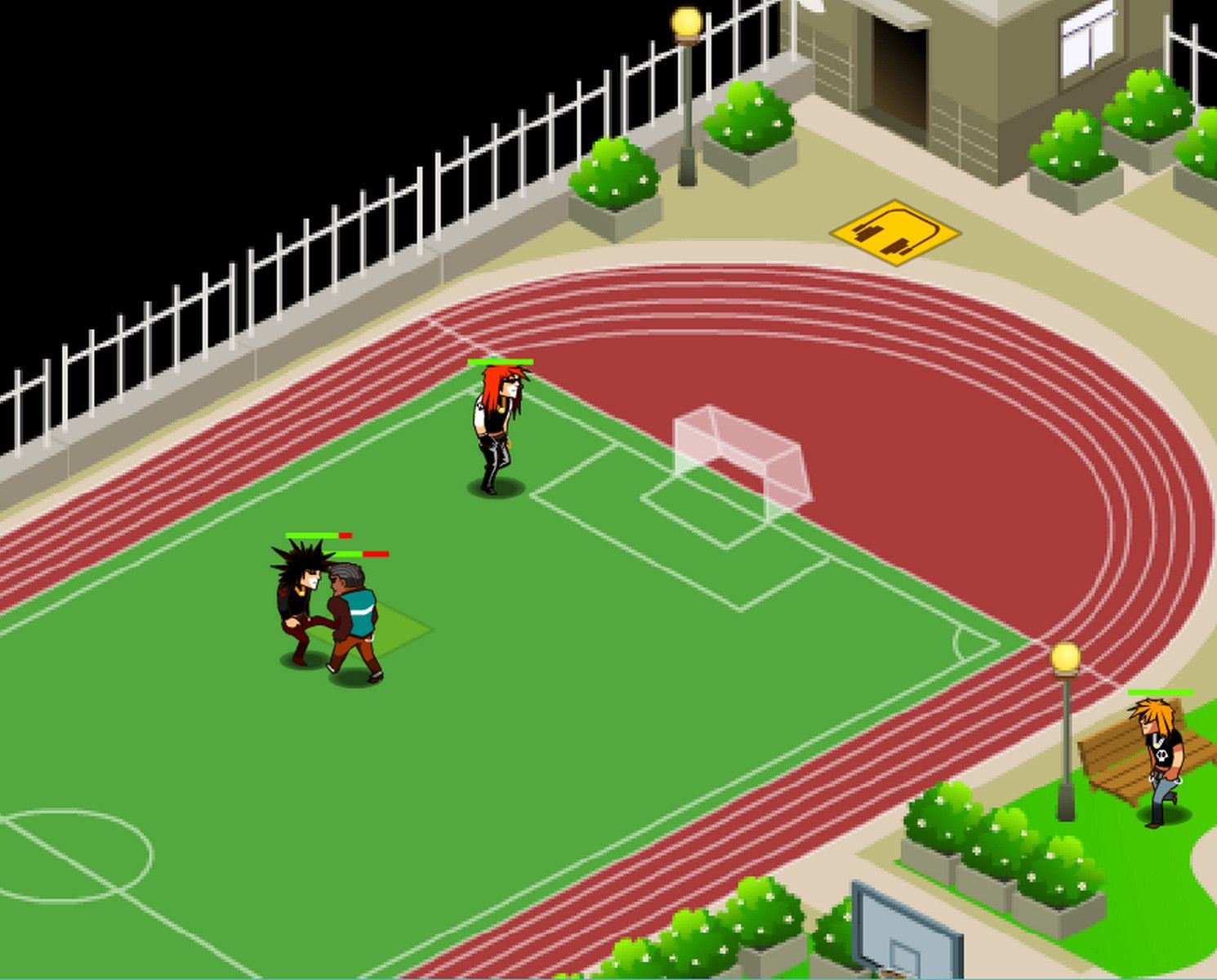 Games Like High School is tough with bullies. Now, fight