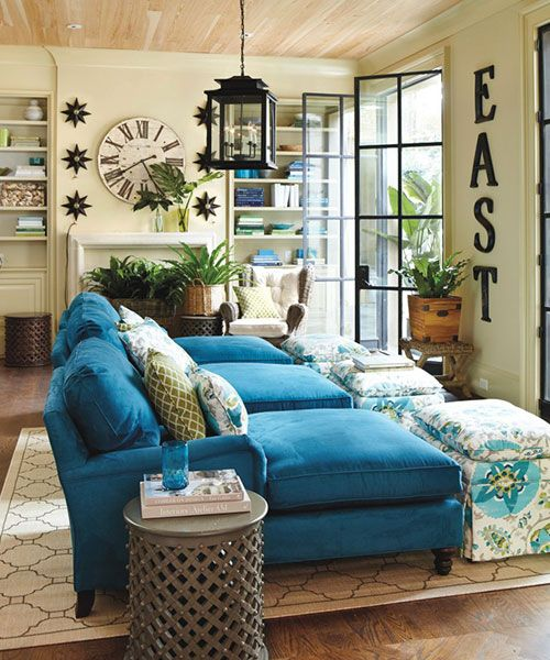 7 Decorating Rules You Can Break How To Decorate Teal Living Rooms Teal Couch Living Room Couches Living Room
