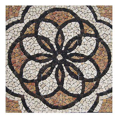 1 Matte Marmormosaik M-002 Fliesen Lager Stein-mosaik Herne NRW Boden-Design