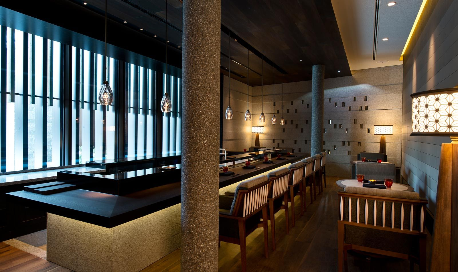 The Japanese Restaurant The Chedi Andermatt Luxury Hotel Switzerland Ghm Hotels Space Restaurants Andermatt Hotel
