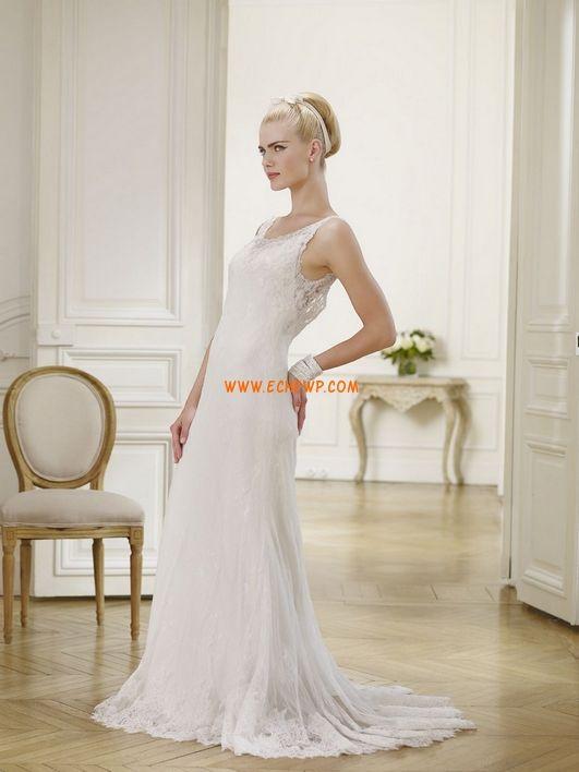 Vår 2014 Spets Sommar Bröllopsklänningar 2014