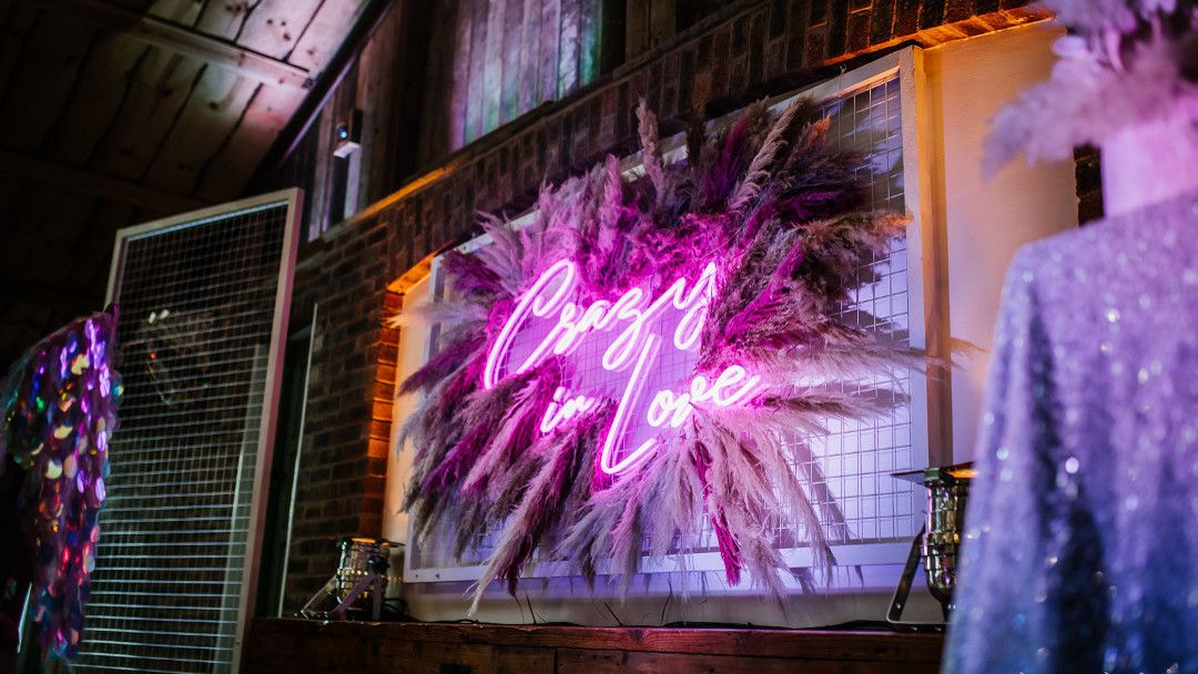 Wedding Neon Signs, Backdrops & Frames Hire (With images
