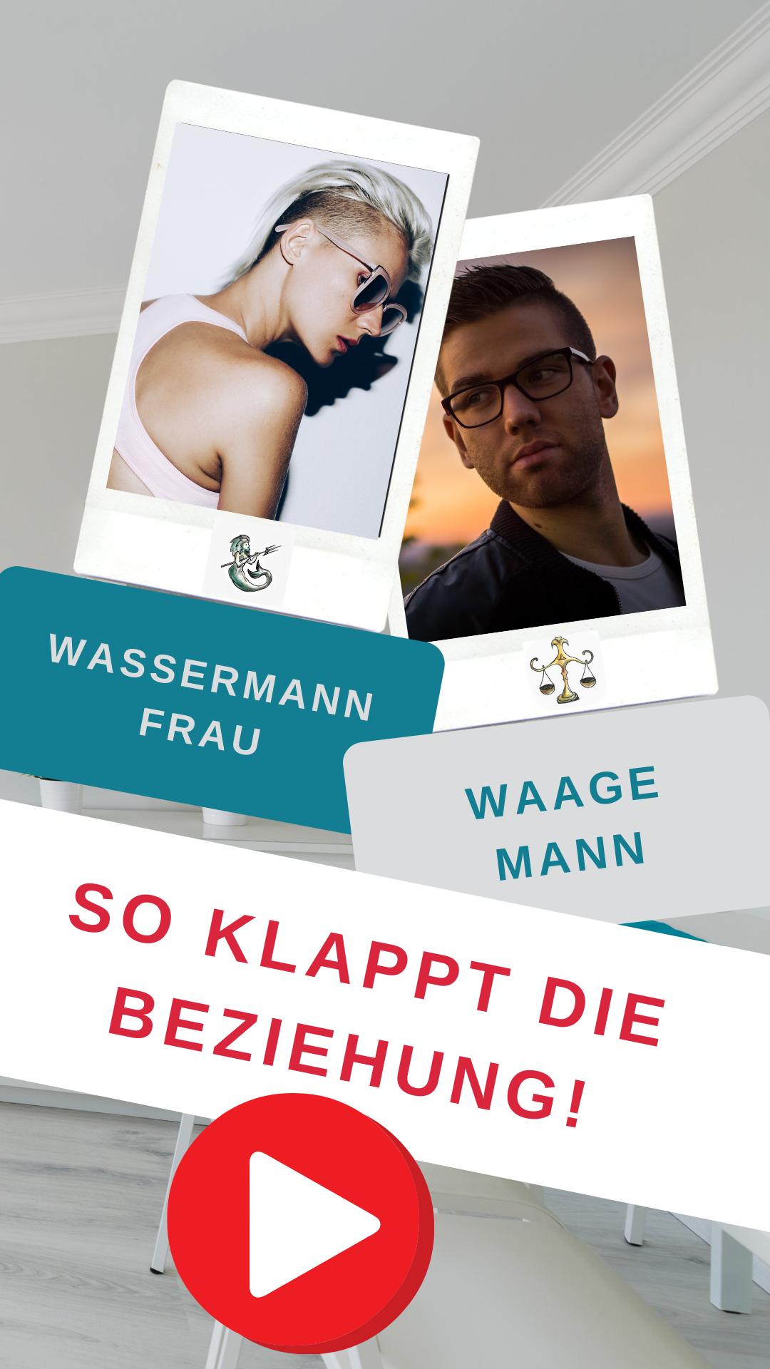 Waage Mann & Wassermann Frau - Liebe? | Waage, Wassermann