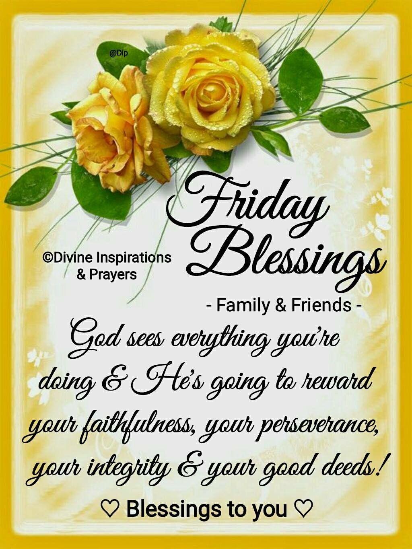 20+ New For Friday Blessings Scriptures - Poppy Bardon | Blessings Pictures