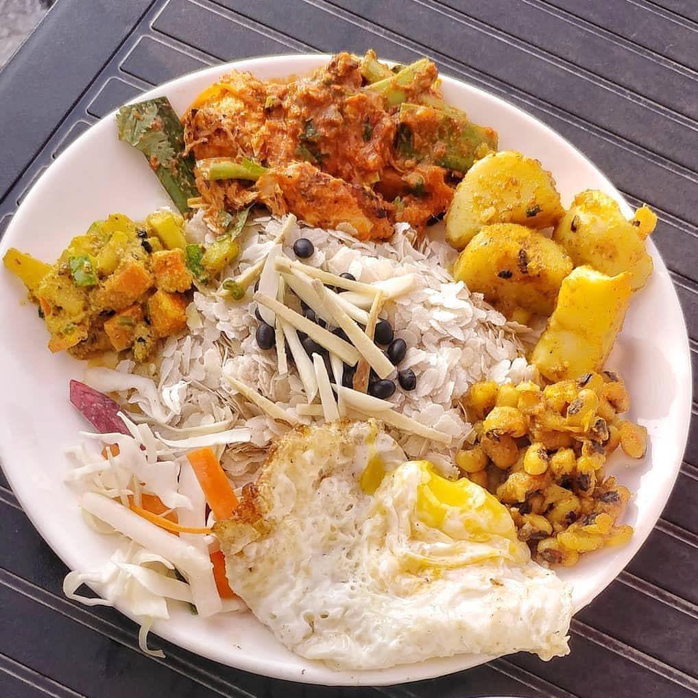 NEWARI KHAJA SET:: Follow @funfoodnepal #food #nepal #follow #taste