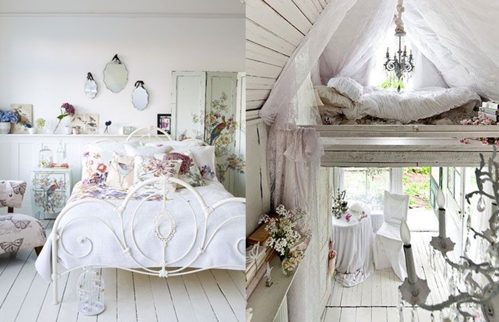 20 Inspirations Pour Une Chambre Shabby Chic Chambre Shabby Chic