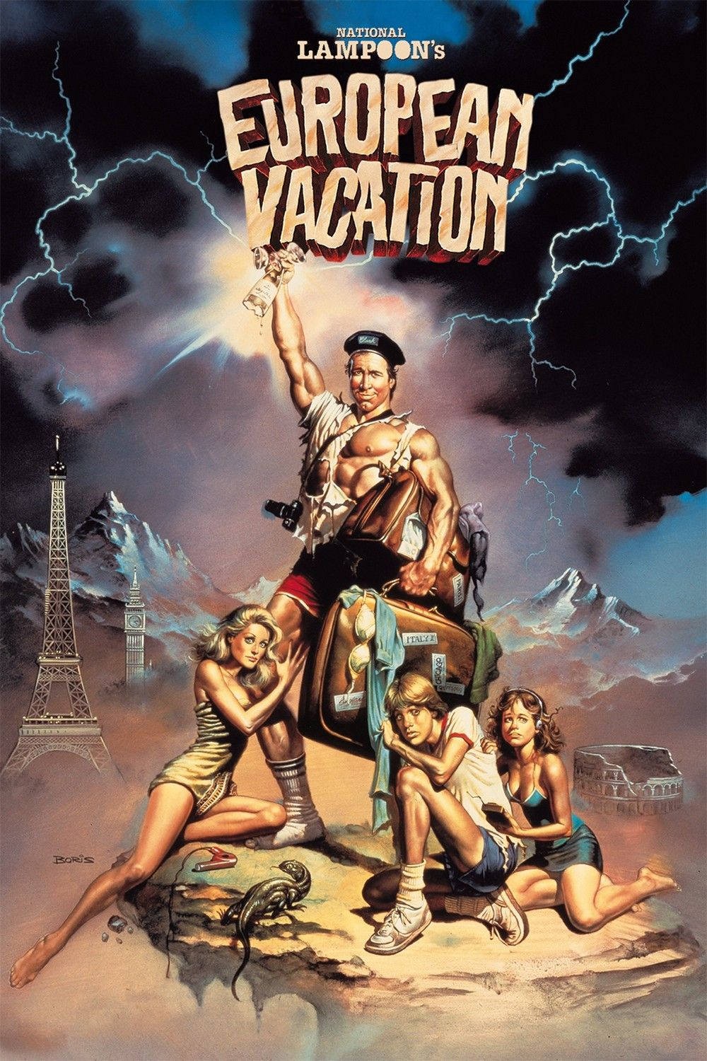 National Lampoon's European Vacation (1985) Chevy Chase