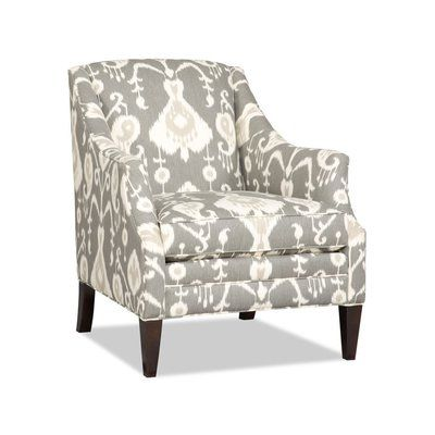 Sam Moore Lark Club Chair Finish Java Upholstery 2761 Pewter