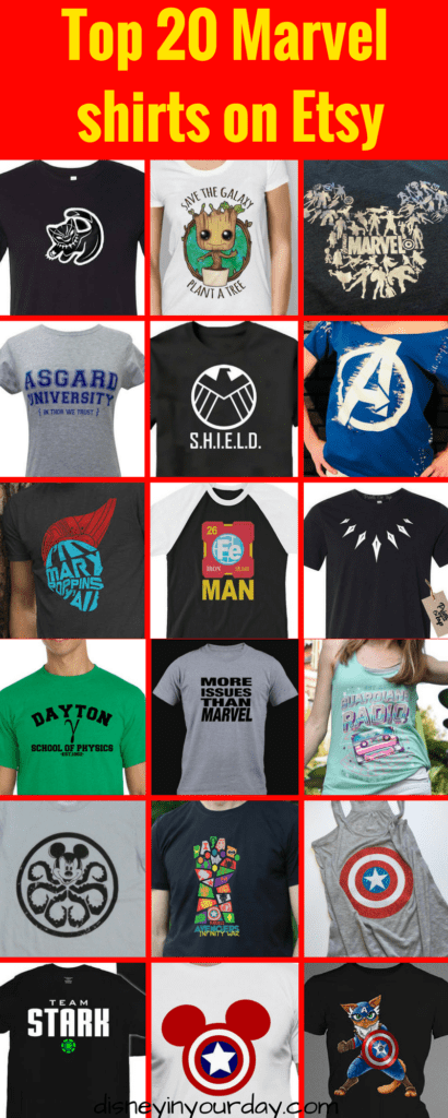 43bd1cda Top 20 Marvel shirts on Etsy | Disney Etsy and Independent shops ...