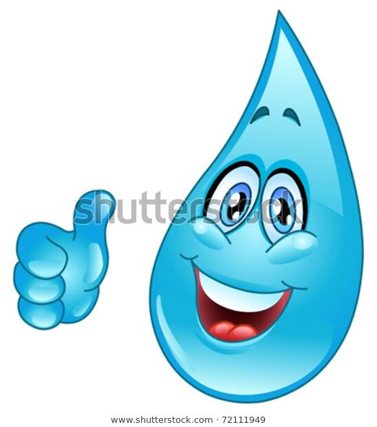 Water Drop Cartoon Stock Vector Royalty Free 72111949 Emoji Design Stock Vector Royalty Free