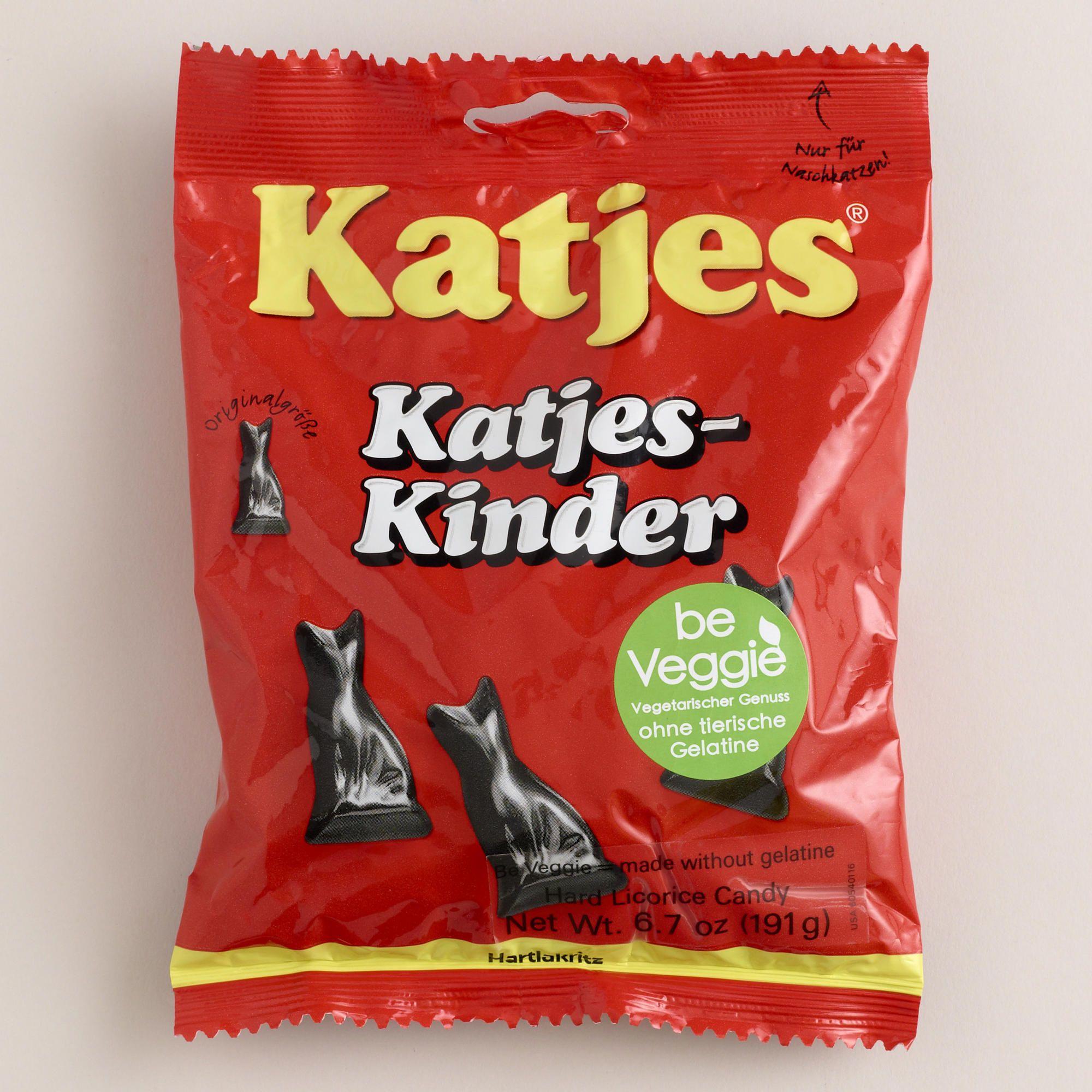 Katjes Licorice Cats, Set of 10 Licorice, Baby formula