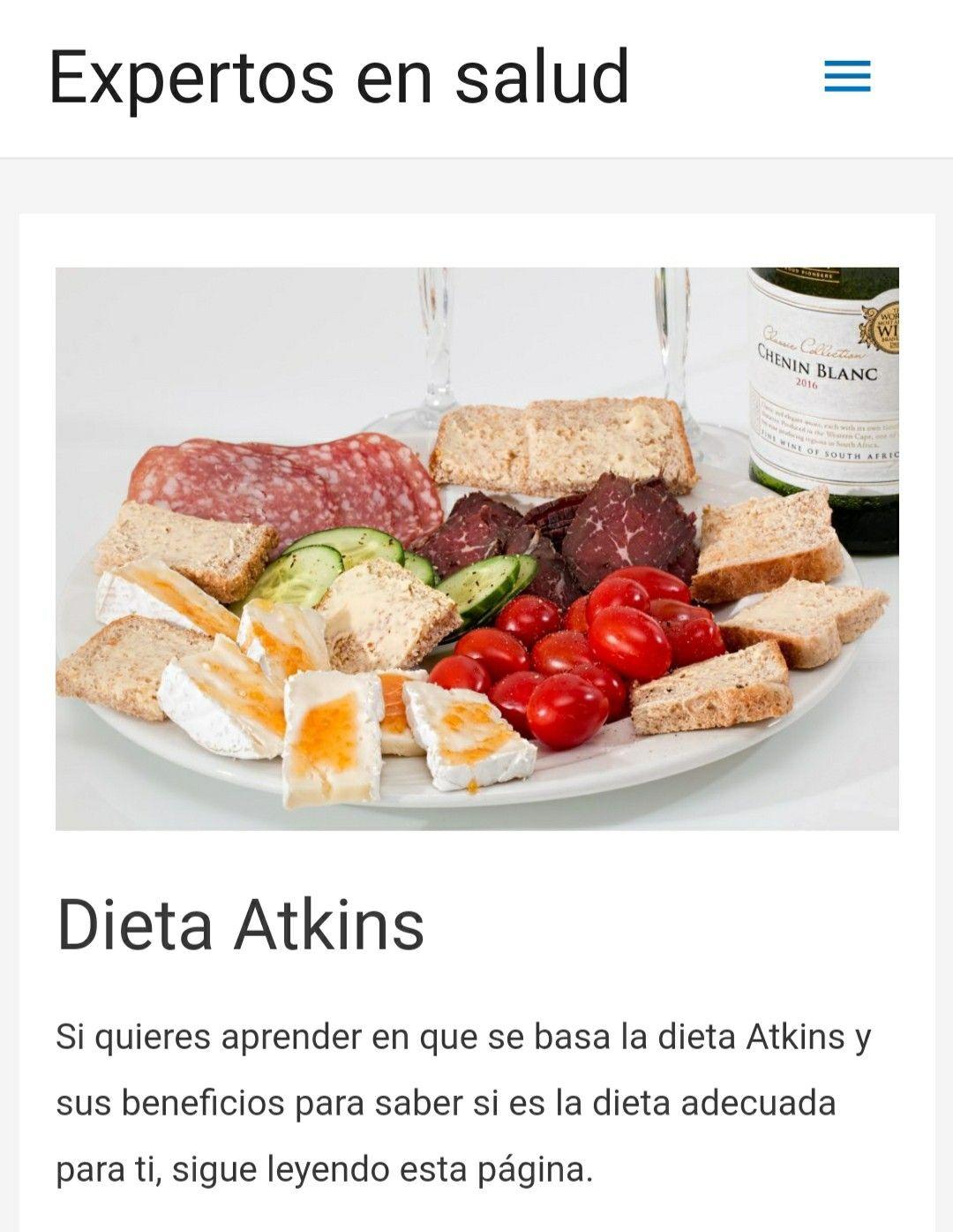 Descubre la dieta Atkins