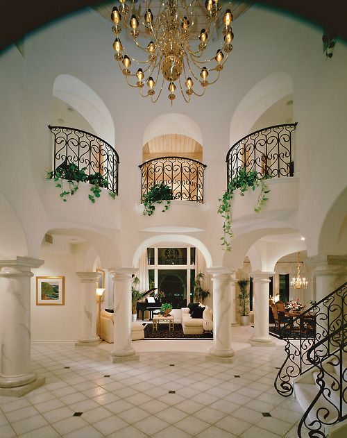 40 Luxurious Grand Foyers For Your Elegant Home: Pin By Bethany C On Dream House