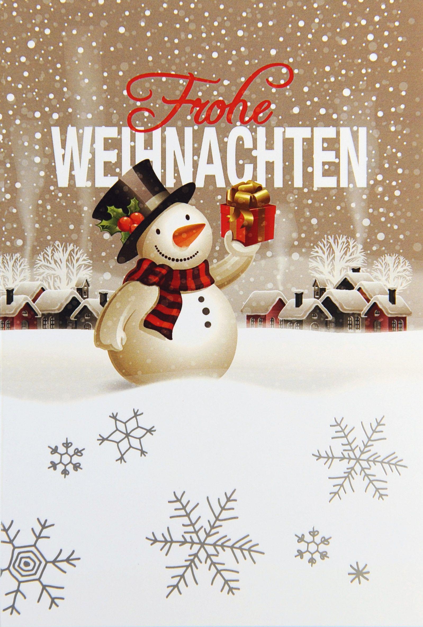 Weihnachtskarte - FW 15944 | Weihnachtskarten Winterlandschaft ...