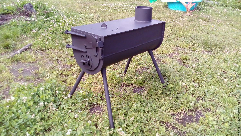 Купить или заказать Походная печь,на дровах в интернет магазине на