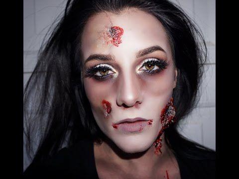 Glam Zombie Holloween Makeup Zombie Makeup Tutorials Makeup