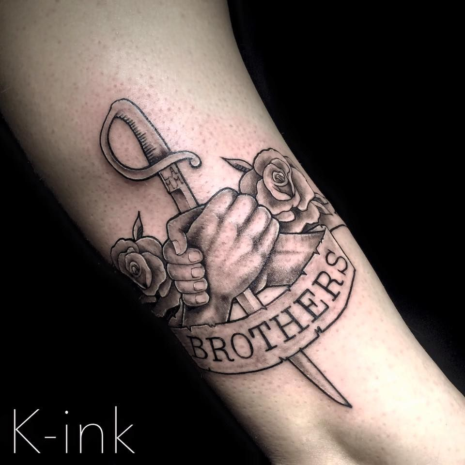 brothers brothertattoo armytattoo tattoo pinterest tattoo ideen tattoo vorlagen und. Black Bedroom Furniture Sets. Home Design Ideas