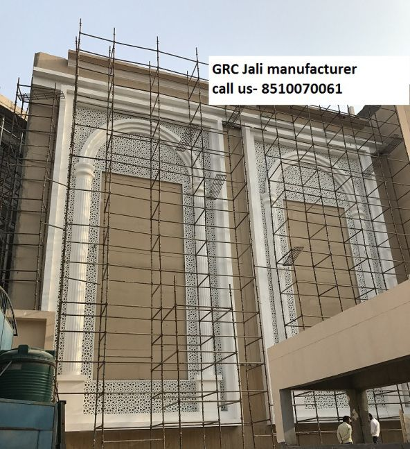 GRC Jali Facade Exterior Cladding Suppliers Cochin Chennai Kandla Haldia  Tamil Nadu