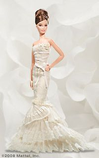 1d3135604dac Barbie vera wang bride romanticist | BARBIES for Natalie ...