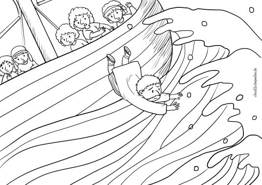 Jona Im Wal Ausmalbilder Jonah In The Whale Coloring Pages Jonas Und Der Wal Ausmalbilder Jona Und Der Wal
