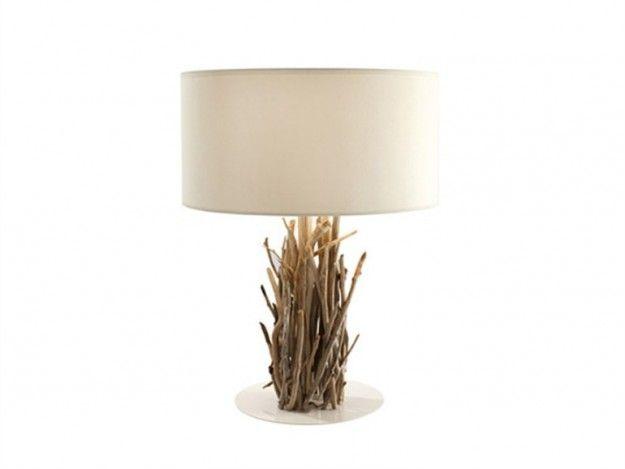 Rami di legno per la lampada lamp table lamp diy for Lampada piantana ikea