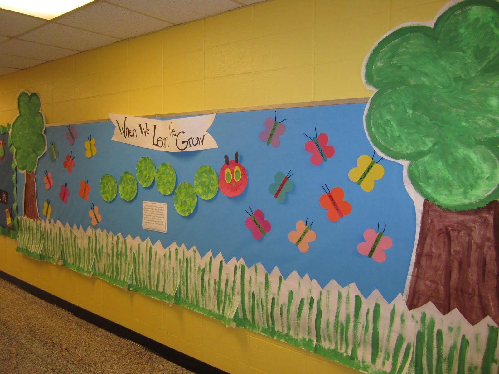 Classroom Board Ideas For Kindergarten : Welcome back bulletin boards for preschool kidspiration