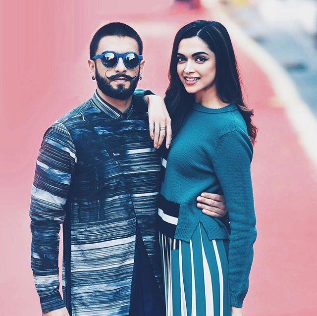 Throwback Ranveer Singh And Deepika Padukone Photoshoot For The Bajirao Mastani Promotions Ranvee Deepika Padukone Deepika Ranveer Indian Bollywood Actress