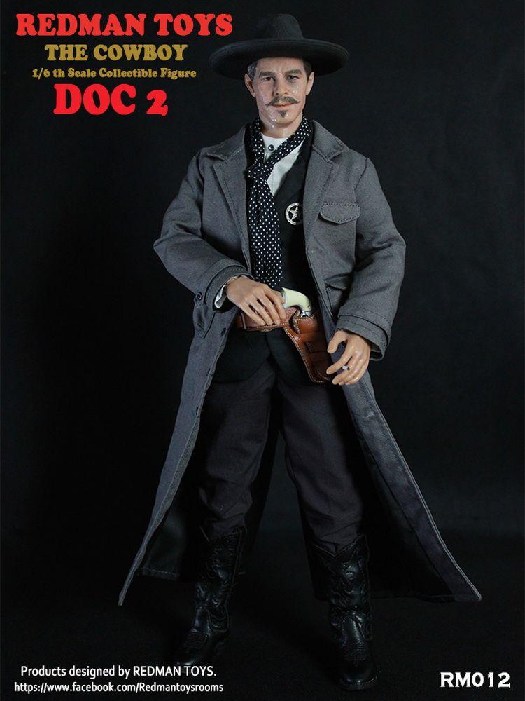 Redman the good black pants 1//6 toys Cowboy Western troussers