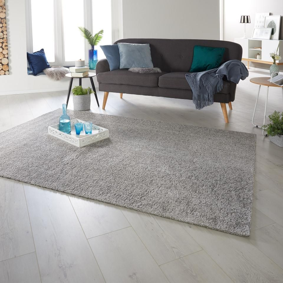 soft teppich madrid 80x140 grau kunstfell teppich getuftet und madrid