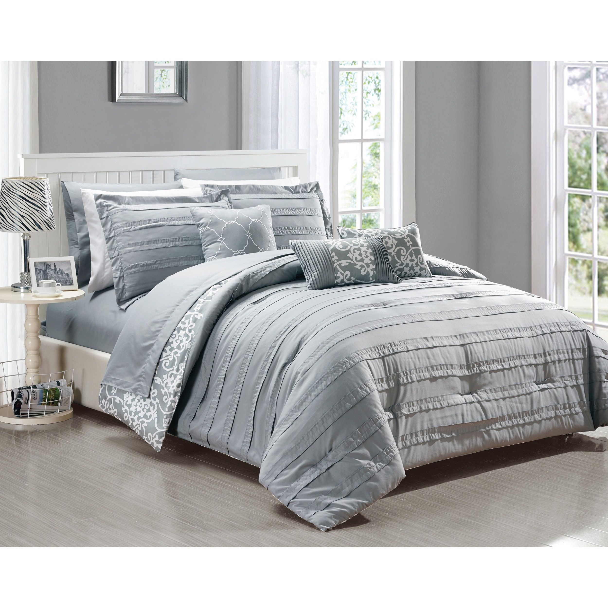 Chic Home Zarina BIB Comforter 10-Piece Set