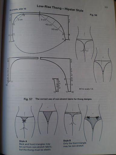 patterncutting for lingerie beachwear and leisurewear - blanca ...